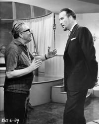 Terence Fisher dirige Christopher Lee sur Les Vierges de Satan (1968)
