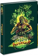 Toxic Avengers Quadrilogie (Édition Mediabook Collector Blu-ray + DVD)