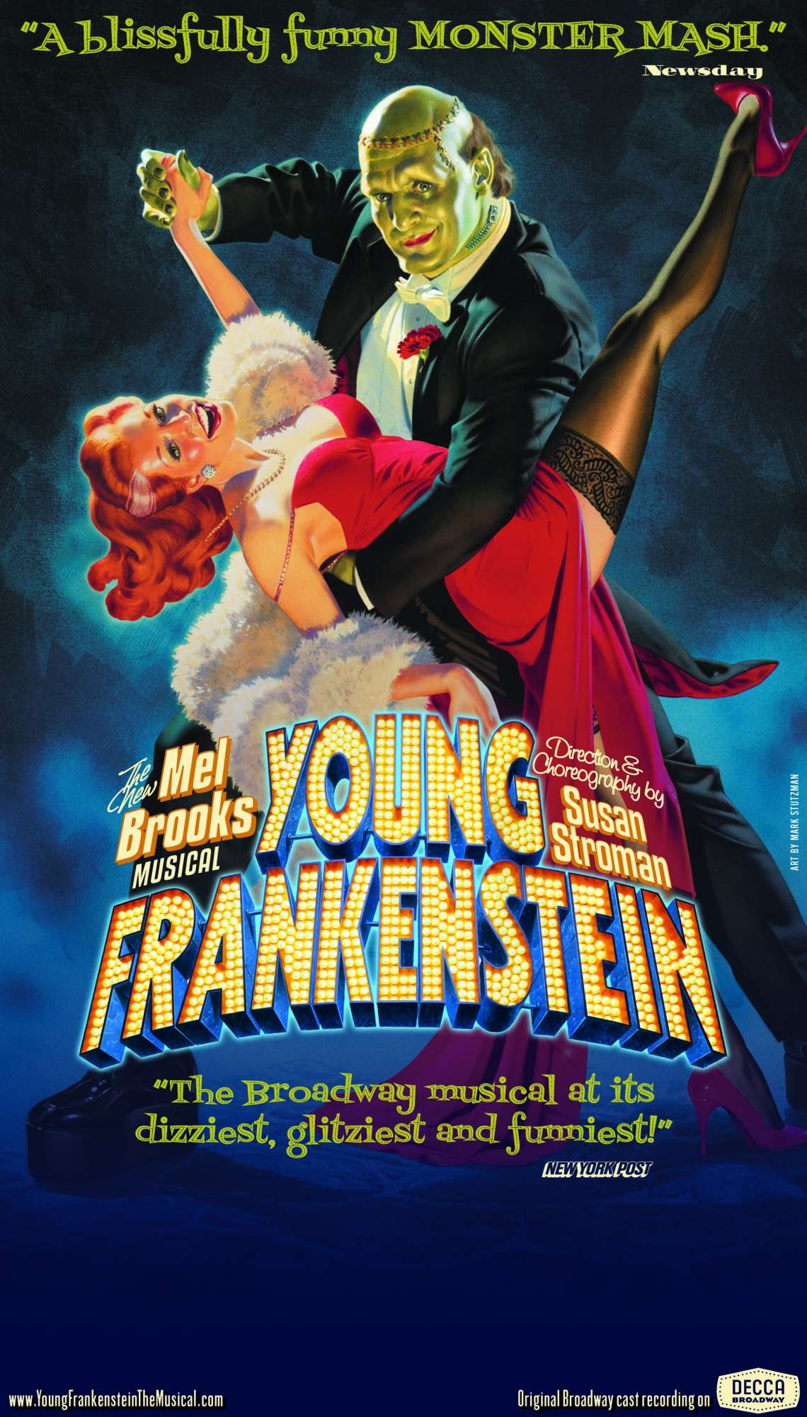 Young Frankenstein : The New Mel Brooks Musical | Horreur.net