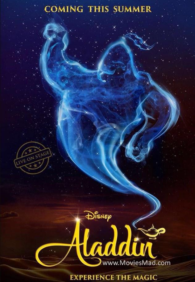 Aladdin 2019 Affiche