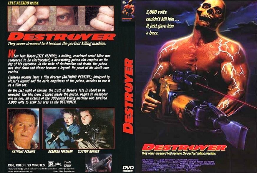 Destroyer 1988 Dvd Destroyer 1988 Images Shadow