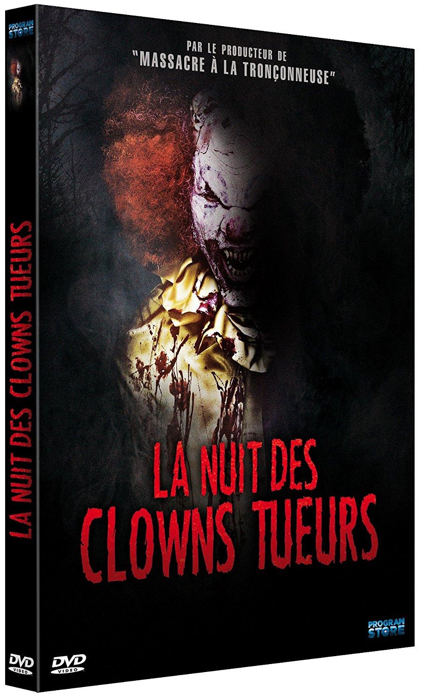 la nuit des clowns tueurs sortie dvd blu ray. Black Bedroom Furniture Sets. Home Design Ideas